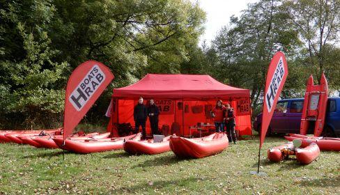 Prezentační stánek Hrab Boats